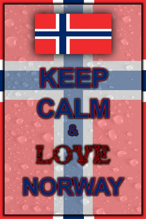Keep Calm and Love Norway - ArtDesign1978