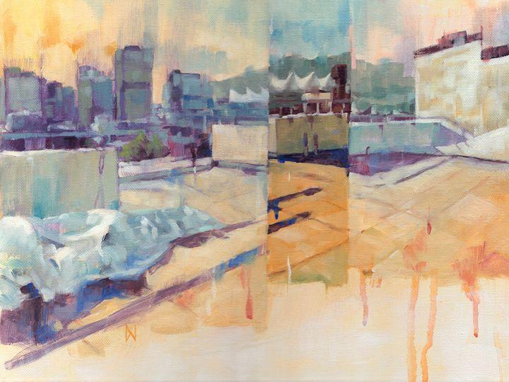 """Sails"" - Dom Ng Artworks"