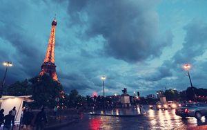 Eiffel Tower photo,wall decor, Paris