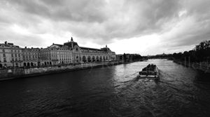 Seine river and cruise