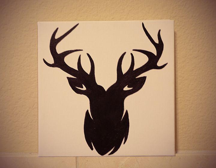 Deer Black - R&H Art Gallery