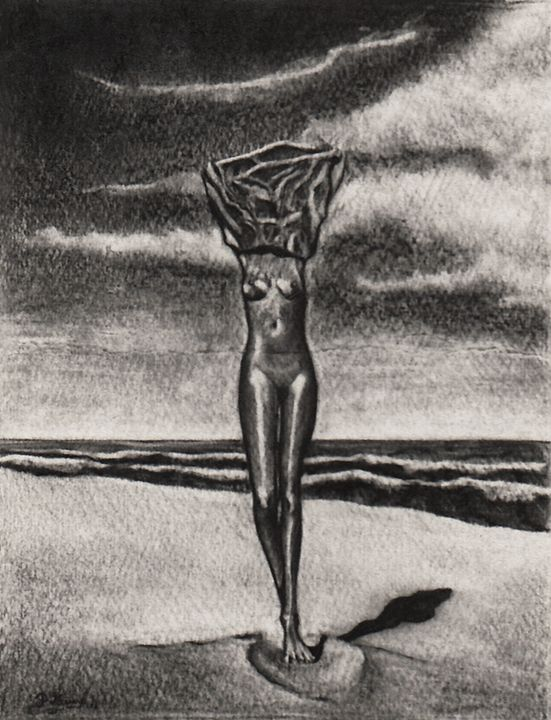 Venus on the Beach - peter menne