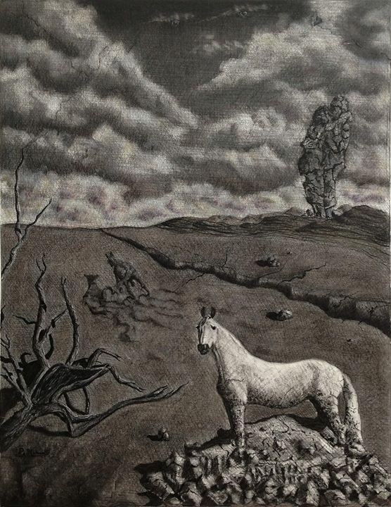 Runaway Horse - peter menne