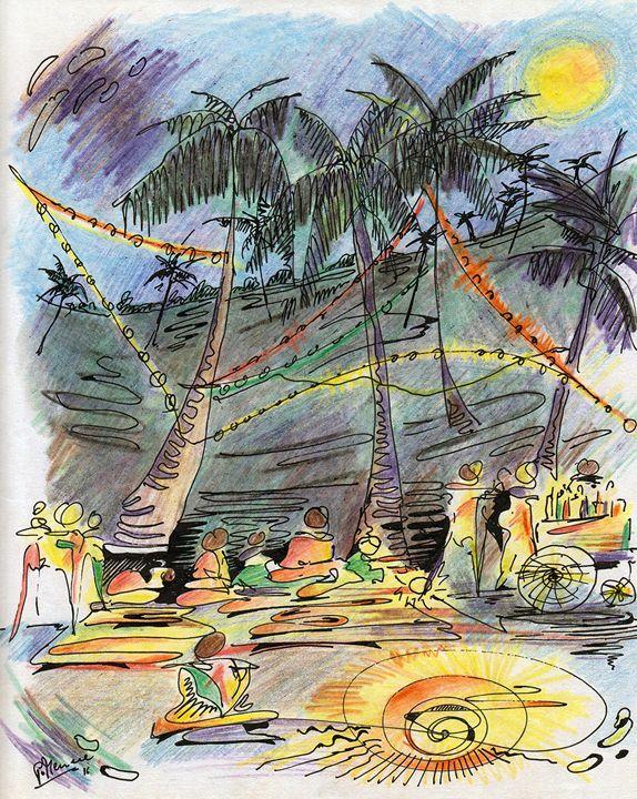Goa Beach Paryt 3 - peter menne