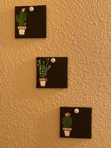 Cactus Painting Set
