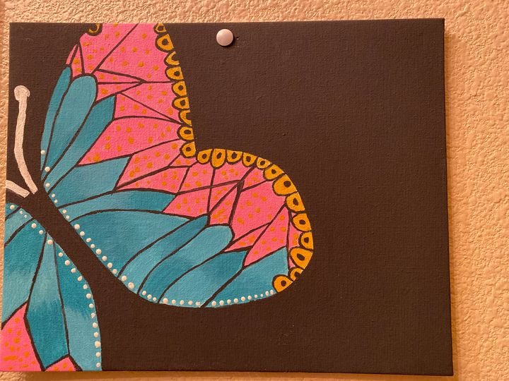 Butterfly Painting - Simple Paintings for Home Decor