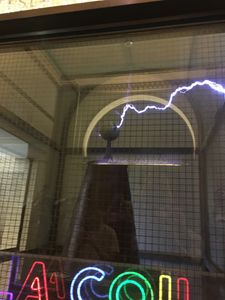 Caged lightning