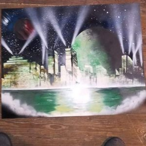The green city soul spray paint
