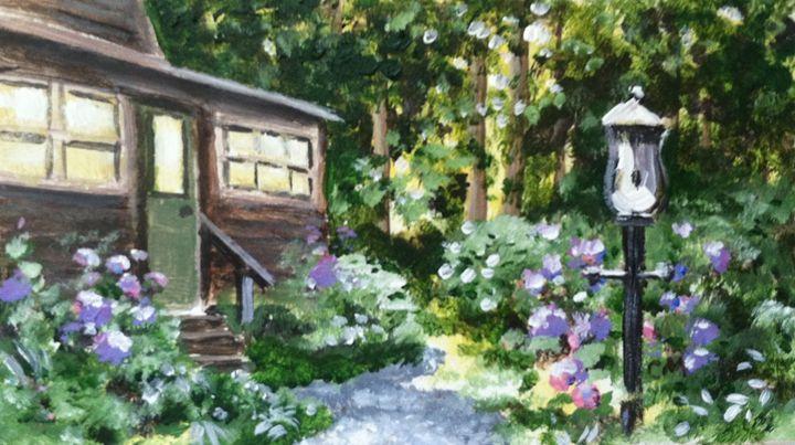 Woodhaven Cabin light - MacMahon Studios