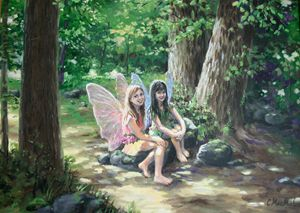 Hannah and Chloe Fairies