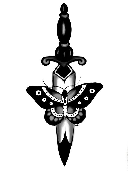 Butterfly and Dagger - Sydney Lohner