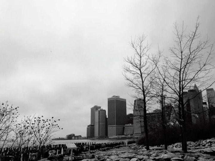 Cloudy New York - Sydney Lohner