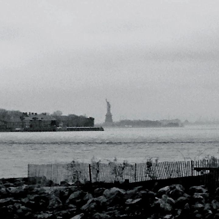 Statue in the Mist - Sydney Lohner