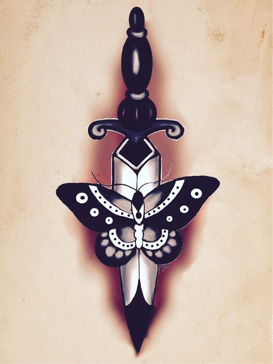 Butterfly and Dagger #2 - Sydney Lohner