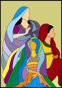 Folk Ladies from Rajasthan