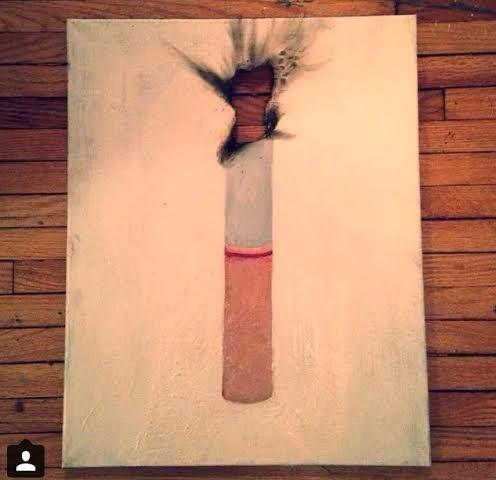 Burning - Coco Chicago Art