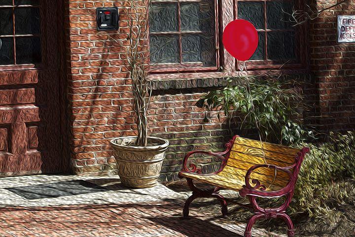 Red Balloon - Christine Mitchell
