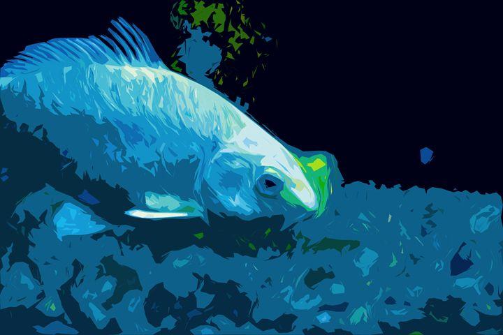 One Fish Blue Fish - Christine Mitchell