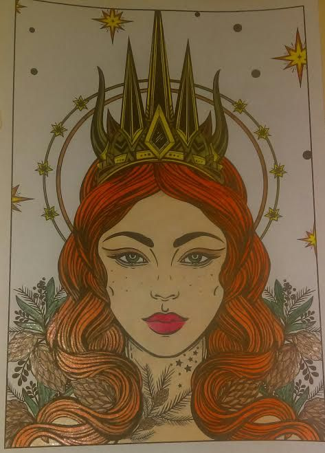 Queen - Jules's Colored Art