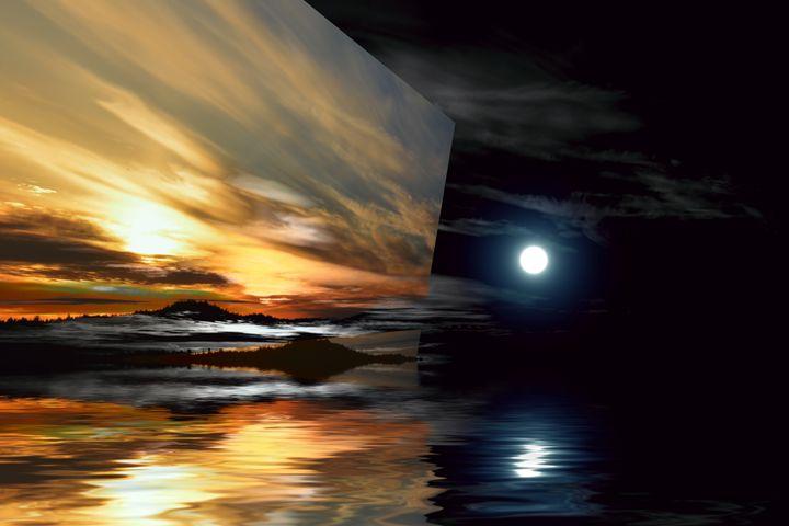 Day and Night, Welcome Beach - Elaine Hunter