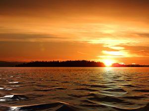 Sunset Salish Sea