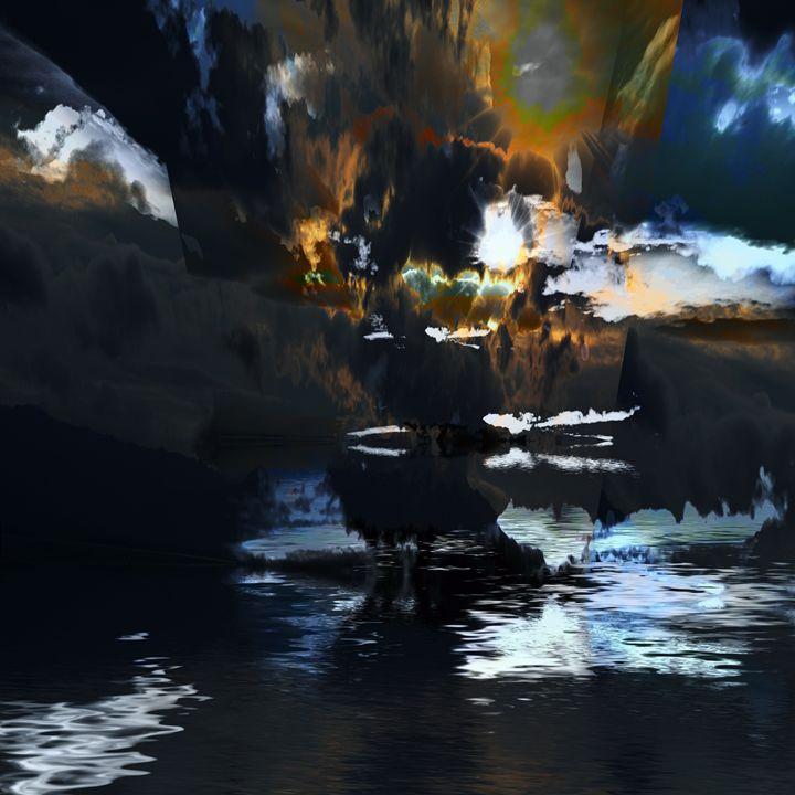Storm Reflections - Elaine Hunter