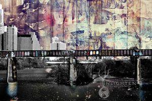 NEVER GIVE UP (Austin Skyline)