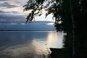 Evening on the Lake