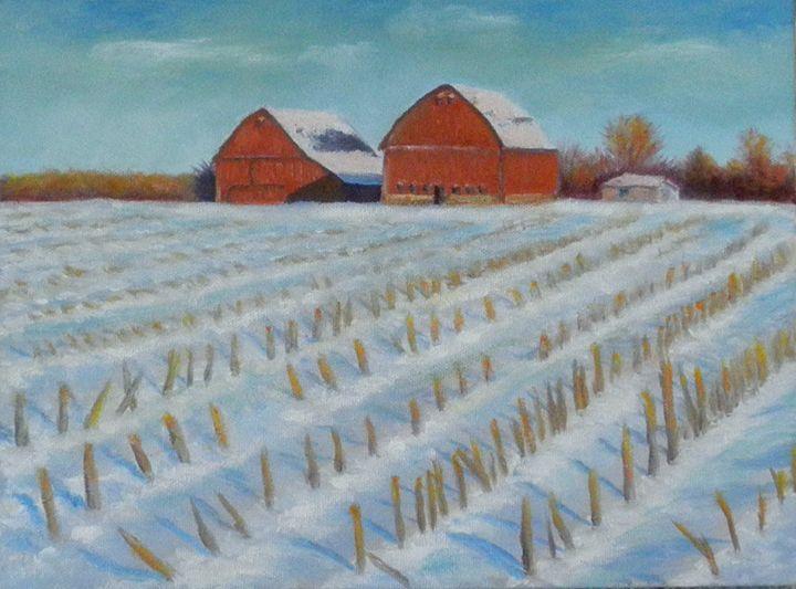 Farm After The Harvest - Kirk Kerndl