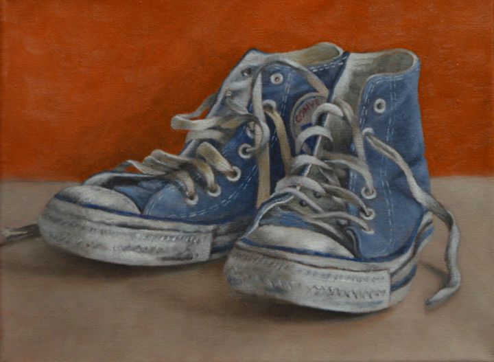bfed8249e98fac Converse Gym Shoes - Kirk Kerndl - Paintings   Prints