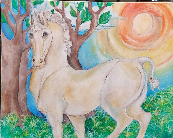 The unicorn - Christine Canizaro