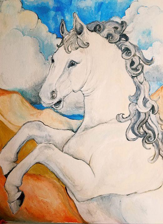 The horse - Christine Canizaro