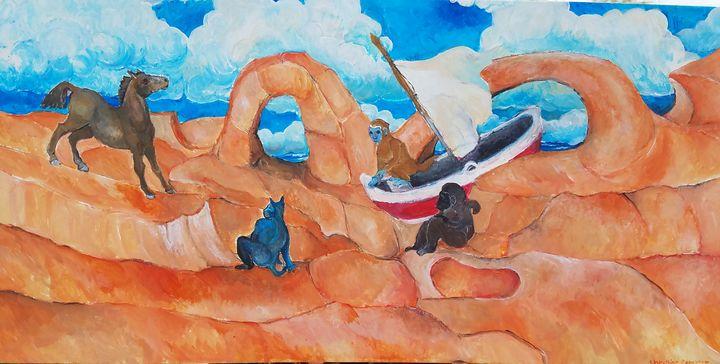 Washed ashore - Christine Canizaro