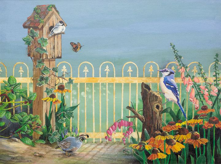 Birds in my garden - K R Carothers