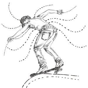 Skater Defies Gravity - Lulu Arty