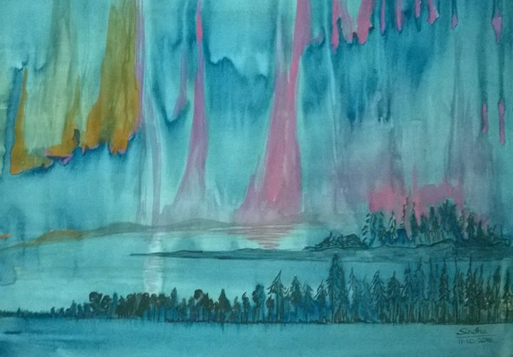 A far away place - Sindhu's Paintings