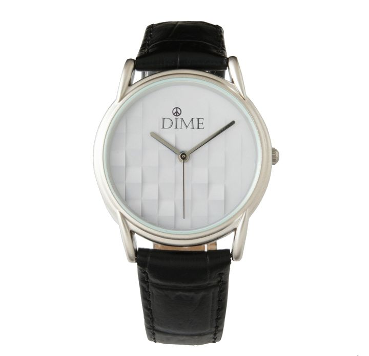 Women's 3-D DIME WRISTWATCH - Dizzy The Artist Fine Art & Accessories