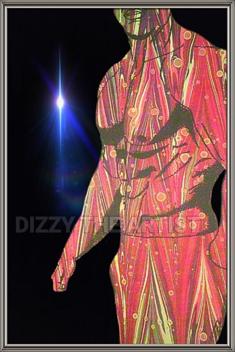 IN THE HEAT OF THE MOMENT - Dizzy The Artist Fine Art & Accessories