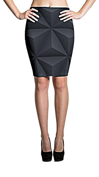 Dime Long Women's Skirt #65811 - Dizzy The Artist Fine Art & Accessories