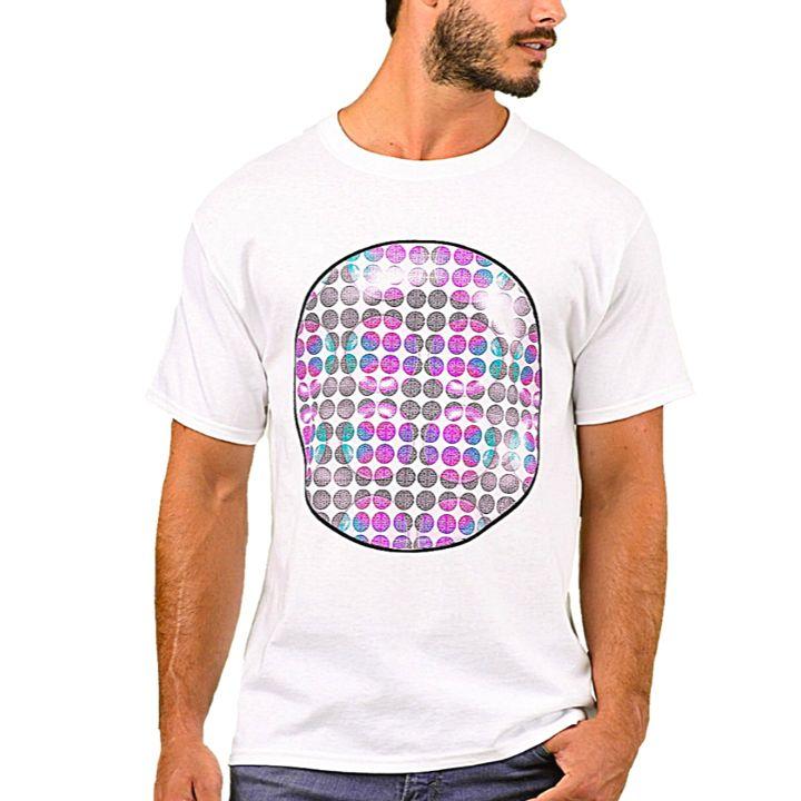 Dime Designer Men's Top's #009145 - Dizzy The Artist Fine Art & Accessories