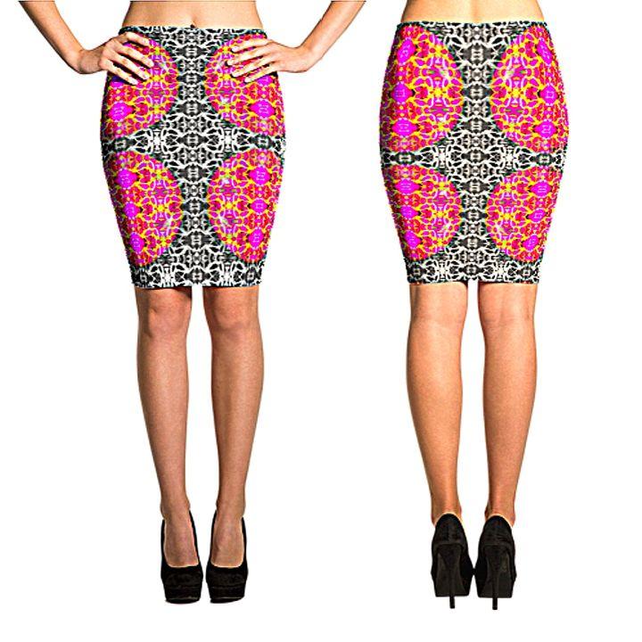 Dime Designer Women's Skirt #004485 - Dizzy The Artist Fine Art & Accessories