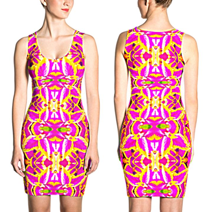 Dime Designer Women's Dress #007784 - Dizzy The Artist Fine Art & Accessories