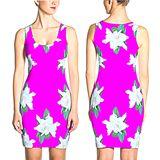 Dime Floral Dress Purple #33608