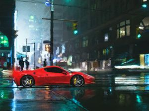 Bring on the night with Ferrari