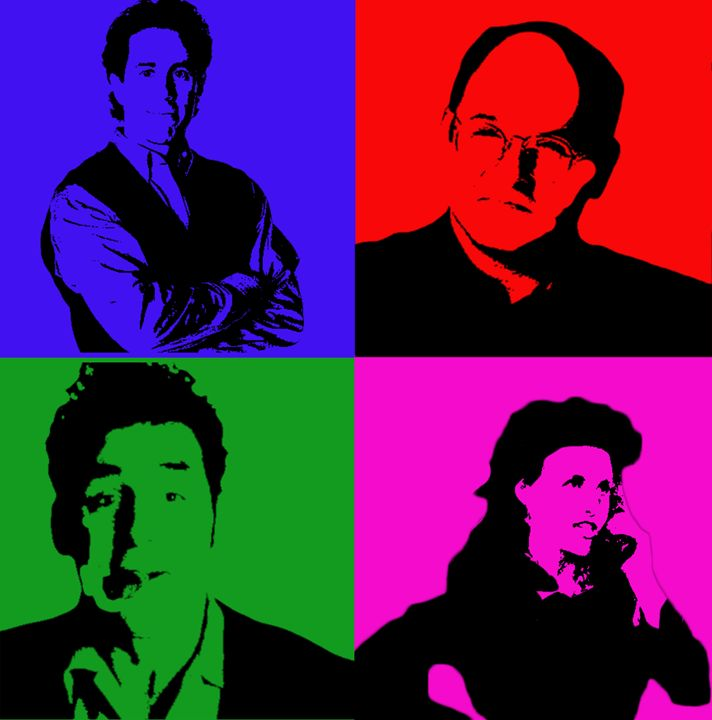 Seinfeld Pop Art - Josh Jerid