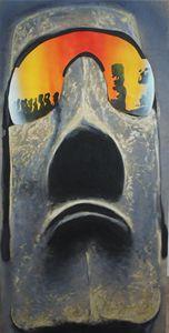 Cool Moai