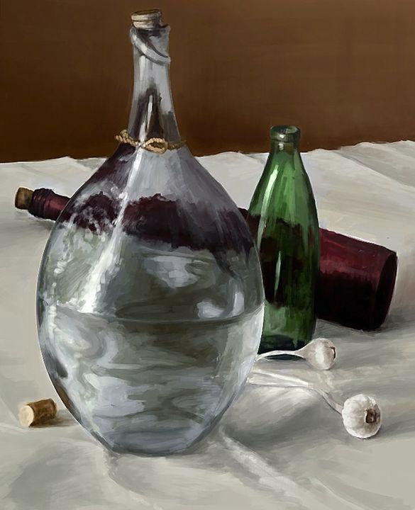 Glass Study - Digital Artwork