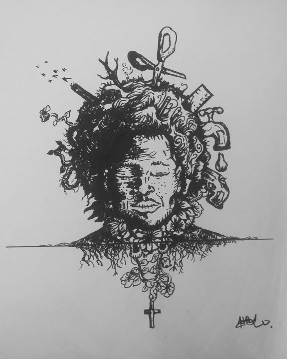 Afro struggle - Hosh Art