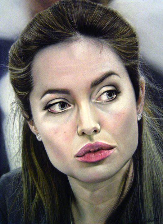 Angelina Jolie - Flicker