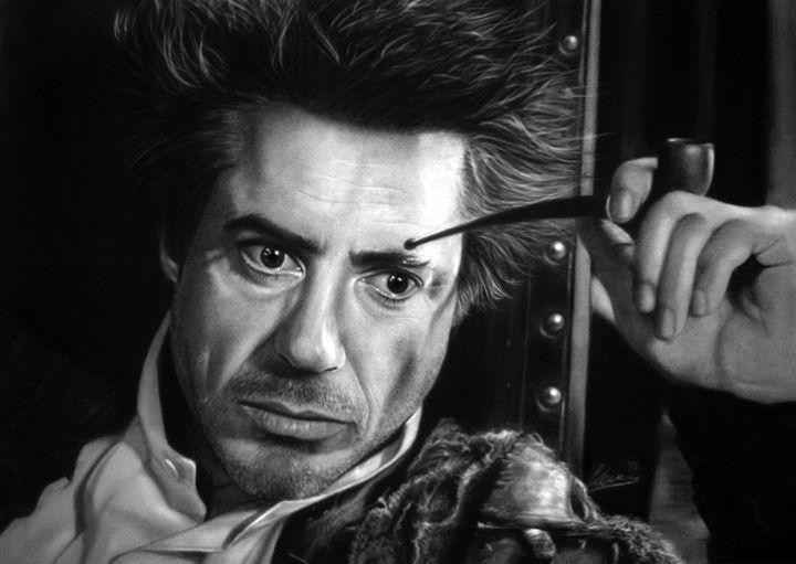 Sherlock Holmes/Robert Downey jr - Flicker
